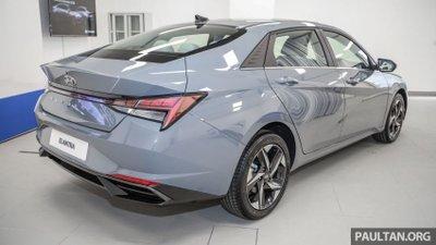 Hyundai Elantra 2021 sở hữu nhiều công nghệ an toàn 1