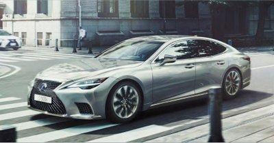 Lexus LS 2021 đẹp mắt đúng chuẩn sedan đầu bảng.
