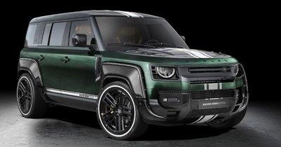 Land Rover Defender Racing Green Edition với màu độ cực độc đáo.