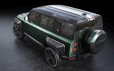 Land Rover Defender Racing Green Edition để lại ấn tượng sâu lắng.