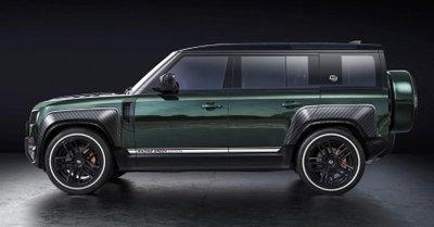 Land Rover Defender Racing Green Edition nổi bật hơn với trang trí đặc sắc.