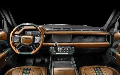 Land Rover Defender Racing Green Edition tô điểm từng li.