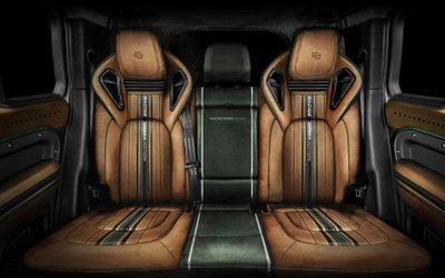 Land Rover Defender Racing Green Edition đảm bảo sự sang trọng song hành thoải mái.