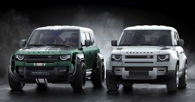 Land Rover Defender Racing Green Edition bắt mắt với màu sắc phá cách.