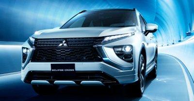 Mitsubishi Eclipse Cross 2021 có cả bản động cơ đốt truyền thống lẫn bản hybrid.