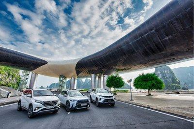 Bộ 3 sản phẩm SUV nổi bật đến từ thương hiệu Toyota.