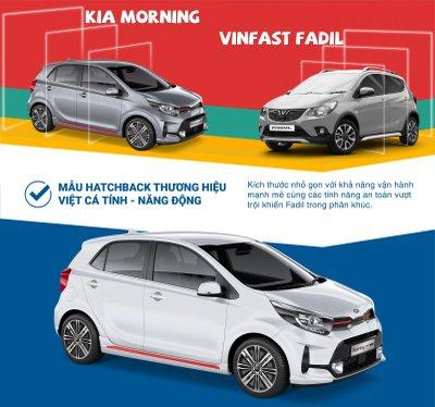 So sánh trang bị Kia Morning và VinFast Fadil tại Việt Nam a1