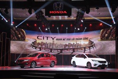 Honda City 2021 chính thức ra mắt.