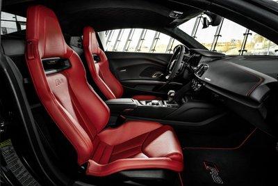 Audi R8 Panther Edition 2021 sở hữu tạo hình bí ẩn và khêu gợi.