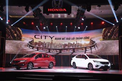 Honda City thế hệ 5 ra mắt Việt Nam 1