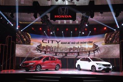 Honda City 2021 ra mắt với 3 phiên bản tại Việt Nam.