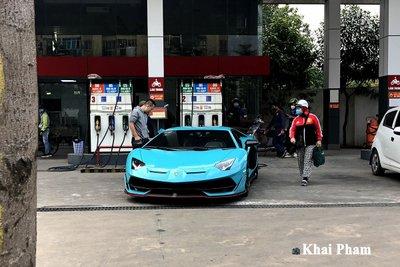 Lamborghini Aventador SVJ đầu tiên về Việt Nam tái xuất, gầm rú đường phố với 2 chi tiết mới  a1