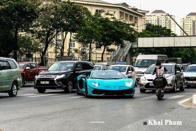 Lamborghini Aventador SVJ đầu tiên về Việt Nam tái xuất, gầm rú đường phố với 2 chi tiết mới  a13
