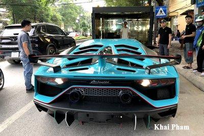 Lamborghini Aventador SVJ đầu tiên về Việt Nam tái xuất, gầm rú đường phố với 2 chi tiết mới  a4