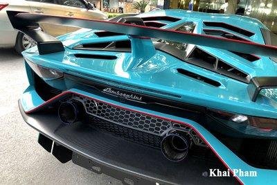 Lamborghini Aventador SVJ đầu tiên về Việt Nam tái xuất, gầm rú đường phố với 2 chi tiết mới  a6
