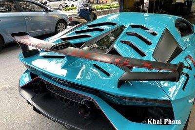 Lamborghini Aventador SVJ đầu tiên về Việt Nam tái xuất, gầm rú đường phố với 2 chi tiết mới  a8