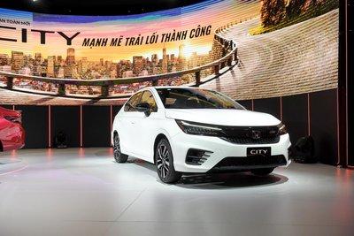Vay mua xe Honda City 2021 trả góp 1