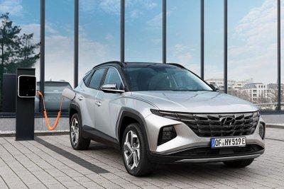 Hyundai Tucson 2022 ra mắt bản Plug-In Hybrid.
