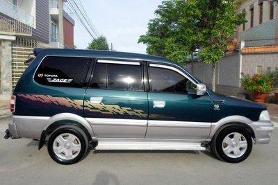 Thiết kế thân xe Toyota Zace 1