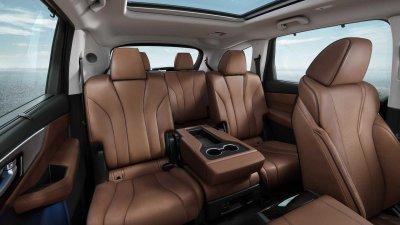 Acura MDX 2022 chú trọng đến không gian người dùng rộng rãi.