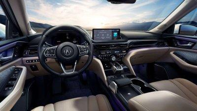 Acura MDX 2022 ứng dụng tạo hình mới tuyệt mỹ.