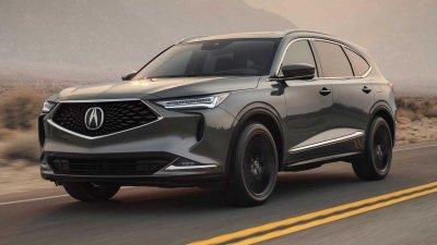 Acura MDX 2022 chào giá từ 1,08 tỷ đồng.