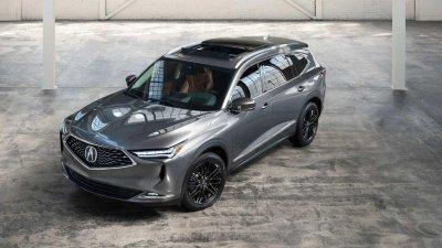 Acura MDX 2022 với thiết kế bắt mắt, ấn tượng hơn.