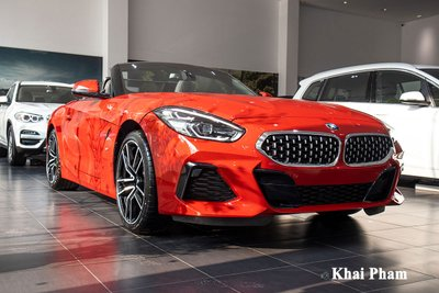 """""""Mục sở thị"""" BMW Z4 sDrive30i 2021 chính hãng mới về Việt Nam a11"""