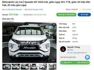 Mitsubishi Xpander 2020 giảm giá tại đại lý 1