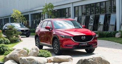 Mazda CX-5 bất bại trong phân khúc CUV tháng 11/2020.