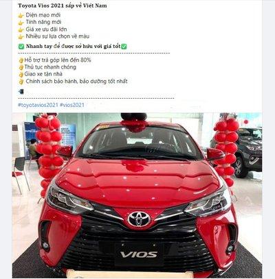 Toyota Vios 2021 chuẩn bị cập bến Việt Nam, đại lý rậm rịch nhận đặt cọc.