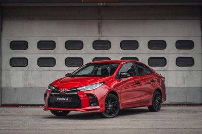 Toyota Vios 2021 GR-S ra mắt tại Malaysia.