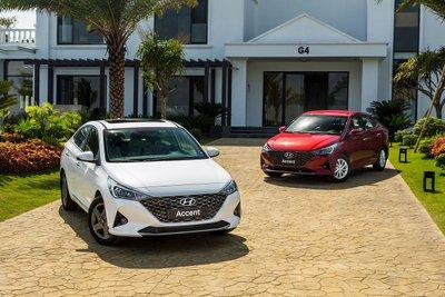 Hyundai Accent 2021 là mẫu xe thu hút sự quân tâm lớn của người tiêu dùng hiện nay 1