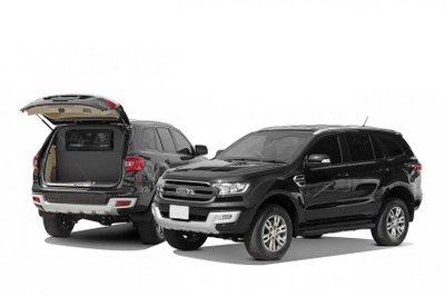 Ford Everest đặc nhiệm còn có biến thể MIB đặc biệt.