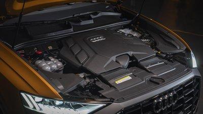 Bên dưới nắp ca-pô là khối động cơ xăng V6, 3.0L TFSL 1