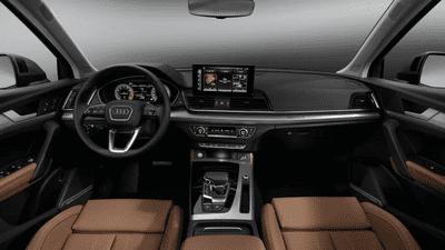 Audi Q5 2021 nâng cấp hàng loạt công nghệ lái lẫn trang bị tiện nghi.