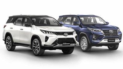 Toyota Fortuner 2021 facelift lộ biến thể trước ngày ra mắt.