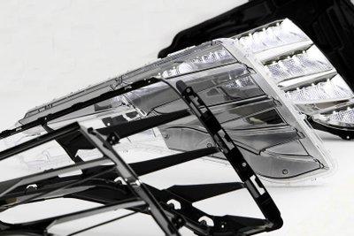Công nghệ đèn Hyundai lấp lánh, cuốn hút và hiện đại.