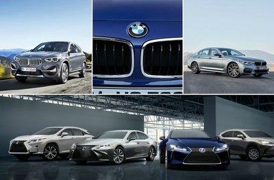 Lexus chính là vũ khí mà Toyota dành riêng cho các đối thủ cao cấp gốc Đức.
