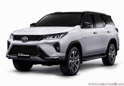 Biến thể đầu bảng Toyota Fortuner 2021 Legender bắt mắt hơn nữa.