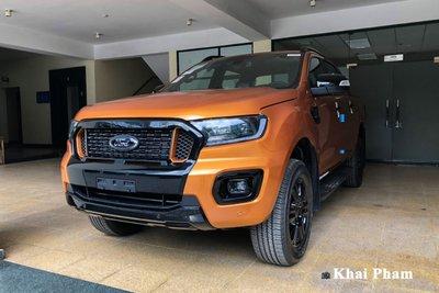 Ford Ranger 2021 tại đại lý Việt Nam 1