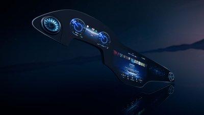 Xe Mercedes-Benz mới sẽ có màn hình