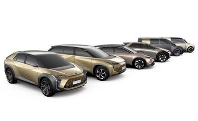 Những mẫu xe Toyota mới sở hữu nhiều bí ẩn.