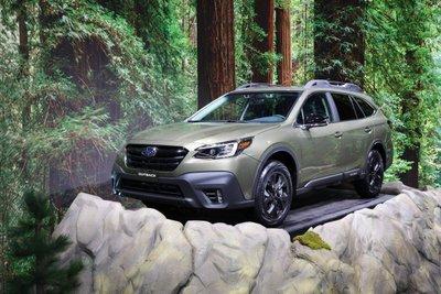 Subaru Outback 2021 sẽ là mẫu xe mới được giới thiệu trong năm nay.
