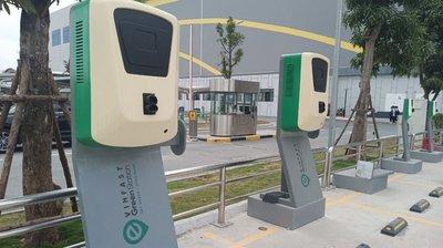 hệ thống trạm sạc xe điện của VinFasta phục vụ miễn phí khách hàng 1