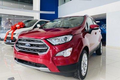 Ford Ecosport giảm giá tại đại lý 1