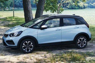 Thiết kế đầu xe Honda Jazz 2021 1