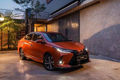 Ngoại hình tổng thể xe Toyota Vios 2021 1