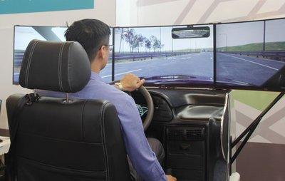 Thay đổi thời gian áp dụng phần mềm mô phỏng tình huống trong đào tạo lái xe ô tô.