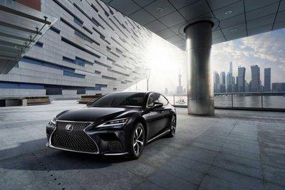 Lexus LS 2021 mới ra mắt thị trường Việt 1